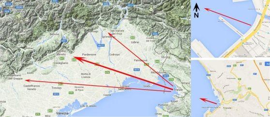 Montagne innevate viste dalle Rive di Trieste - Cronaca - Il Piccolo
