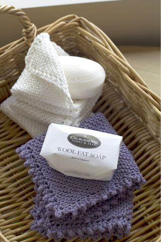 Creative Linen Washcloth Project - Pattern available