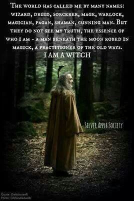 Love this picture, but I still prefer to be called a wizard.