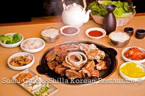 Sushi Cafe | Shilla Korean Bbq