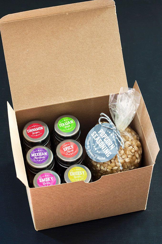 Homemade Popcorn Seasoning Kit | The Evermine Blog | www.evermine.com
