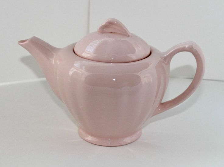 Vintage Meakin Rosa Glamour teapot