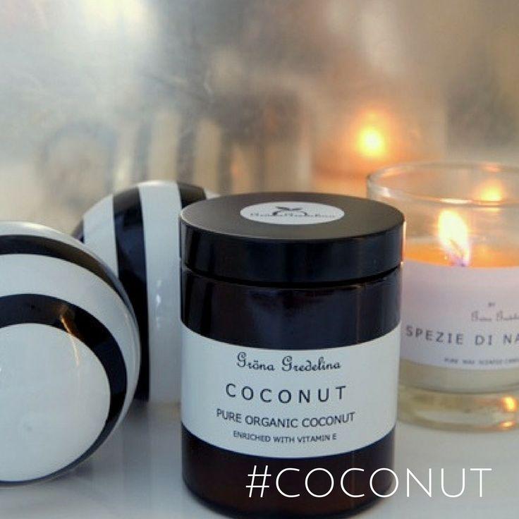 Ekologisk hudvård med kokosolja – Gröna Gredelina