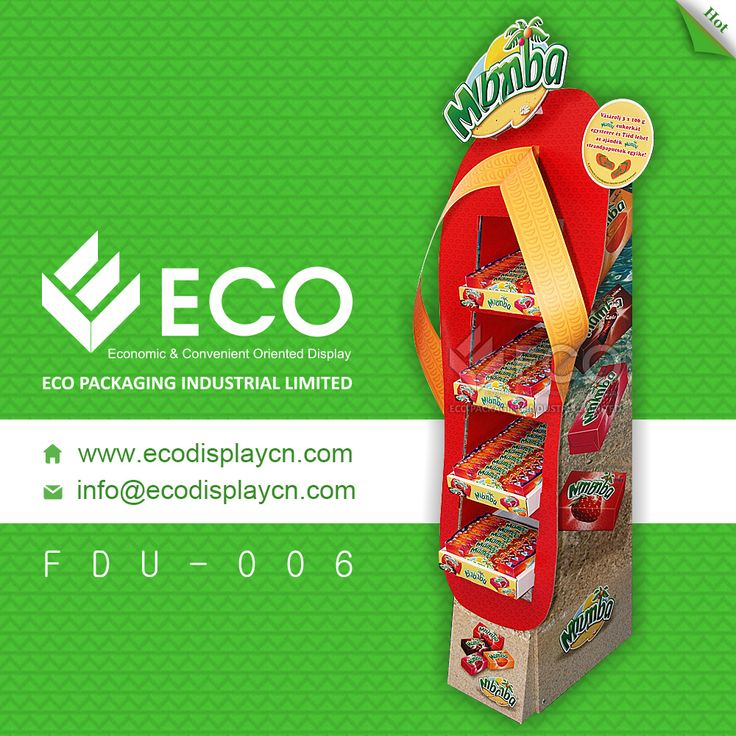 Customized Cardboard Floor Display