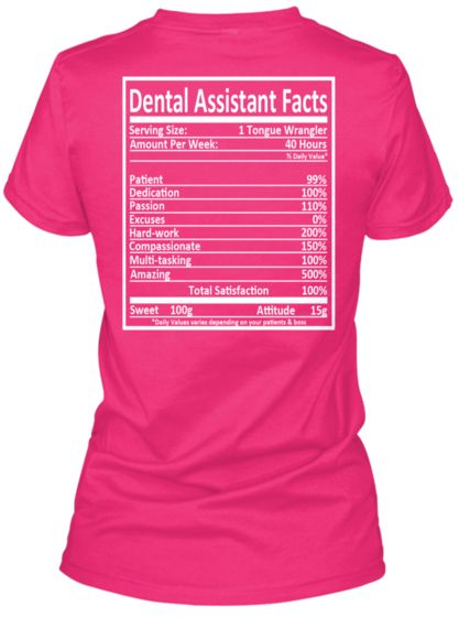 LIMITED EDITION - Dental Assistant
