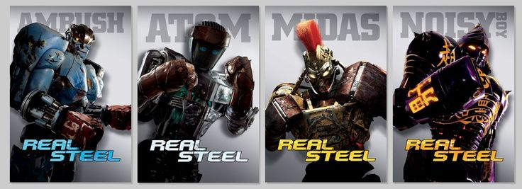 "real steel robots | DreamWorks Pictures"" ""Real Steel"" ""Robots"""