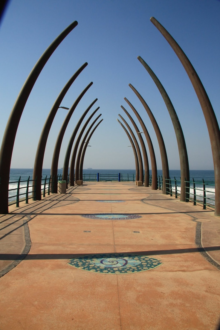 Umhlanga Pier, KZN.