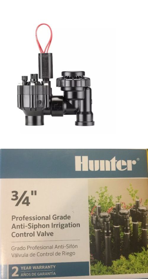 Valves 75673: 2 Each Hunter 3 4 In  Electric Anti-Siphon Irrigation