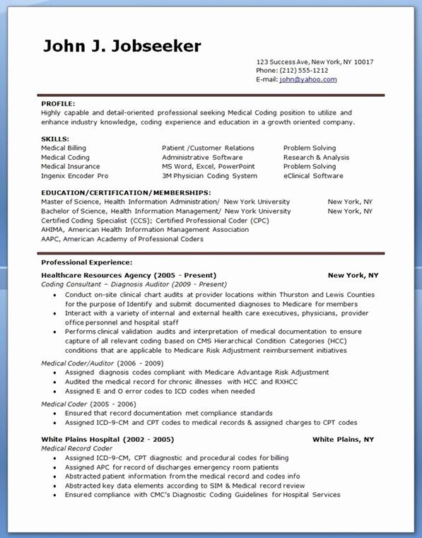 Billing And Coding Resume Awesome Medical Billing And Coding Resume Career Life Medical Coding Jobs Medical Coding Medical Billing And Coding