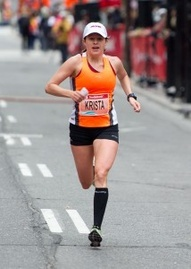 Im super inspried by Krista DuChene - an amazing runner, optimist and woman of faith!