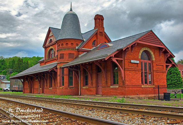 Oakland MD Victorian Train Station by PhotosToArtByMike, via Flickr