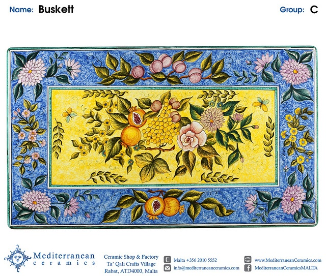 Design: Buskett (C) by Mediterranean Ceramics, via Flickr