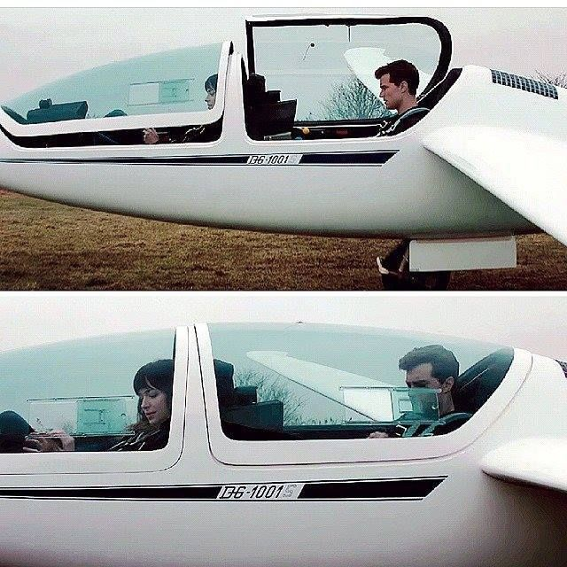 He is so cool in that plane.