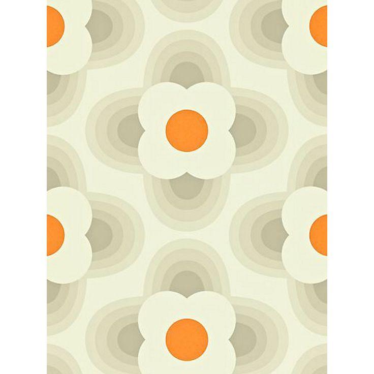 Buy Orla Kiely House for Harlequin Striped Petal Wallpaper   John Lewis
