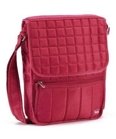Look at this #zulilyfind! Rose Pink Moped Messenger Bag by Lug #zulilyfinds