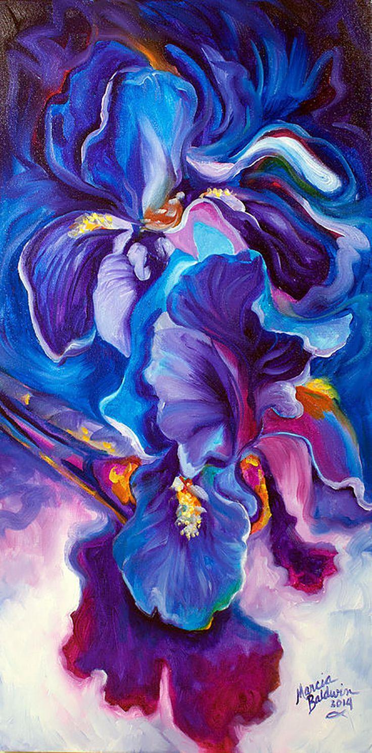 """""""Iris"""" par Marcia Baldwin"""