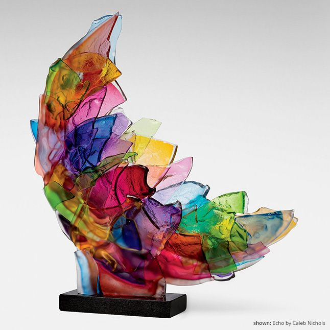 Art Glass Bowls, Sculpture, and More | Artful Home, rainbow colors. Please also visit www.JustForYouPropheticArt.com for colorful inspirational Prophetic Art and stories. Thank you so much. Blessings!