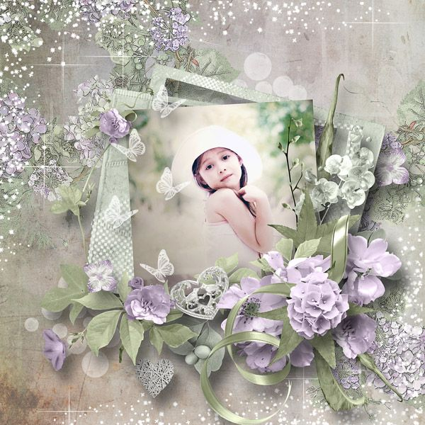 """""""Softness and Romance"""" by Angeliques Scraps"""