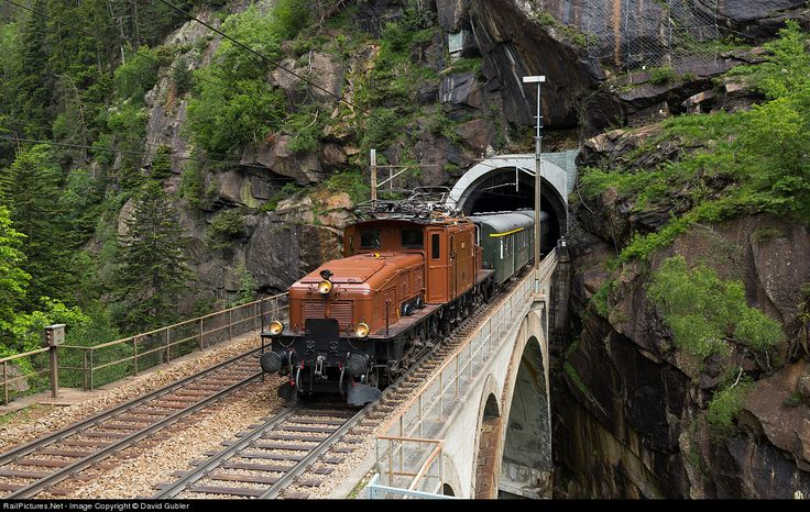 RailPictures.Net Photo: 14253 SBB Ce 6/8 II at Wassen, Switzerland by David Gubler