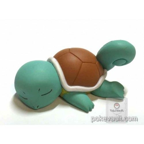 Pokemon 2015 Takara Tomy Oyasumi Friends XY & Z Collection Sleeping Squirtle Figure