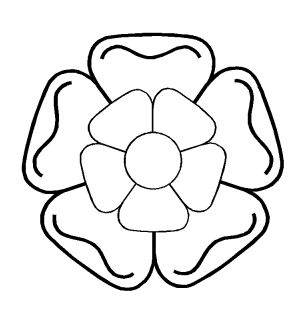 How To Draw Tudor Rose Colouring Pages Page 2