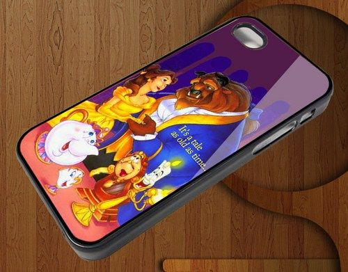 Beauty and the Beast Iphone Case for Iphone 4 4S Case AR1791