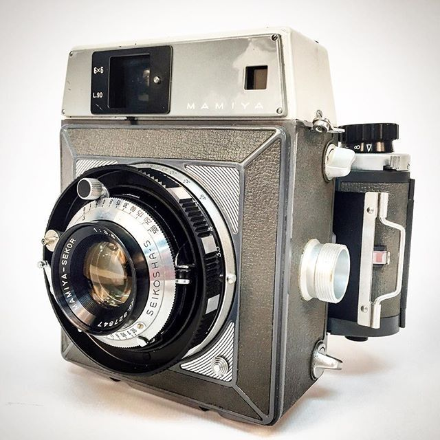 WEBSTA @ kehcamera - A very nice Mamiya Press G with a 90mm f/3.5 Mamiya - Sekor lens.  This beauty hit the market in 1963 and is identical to the original except for the G-type back attachment which is compatible with Graflex Speed Graphic line of cameras. #mamiya #mamiyasekor #rangefinder #camera #filmcamera #shootmorefilm #cameraporn #120film #kameracraft #film #filmsnotdead #cameralove #vintagecamera #vintagecameras #cameralover #mamiyarangefinder #graflex #120film #120mmfilm #120mm…
