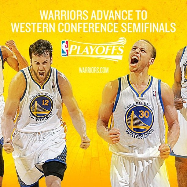 Warriors Come Out And Play Nba: Round 2 Here We Come!!! Tonights #warriors Win Clinches