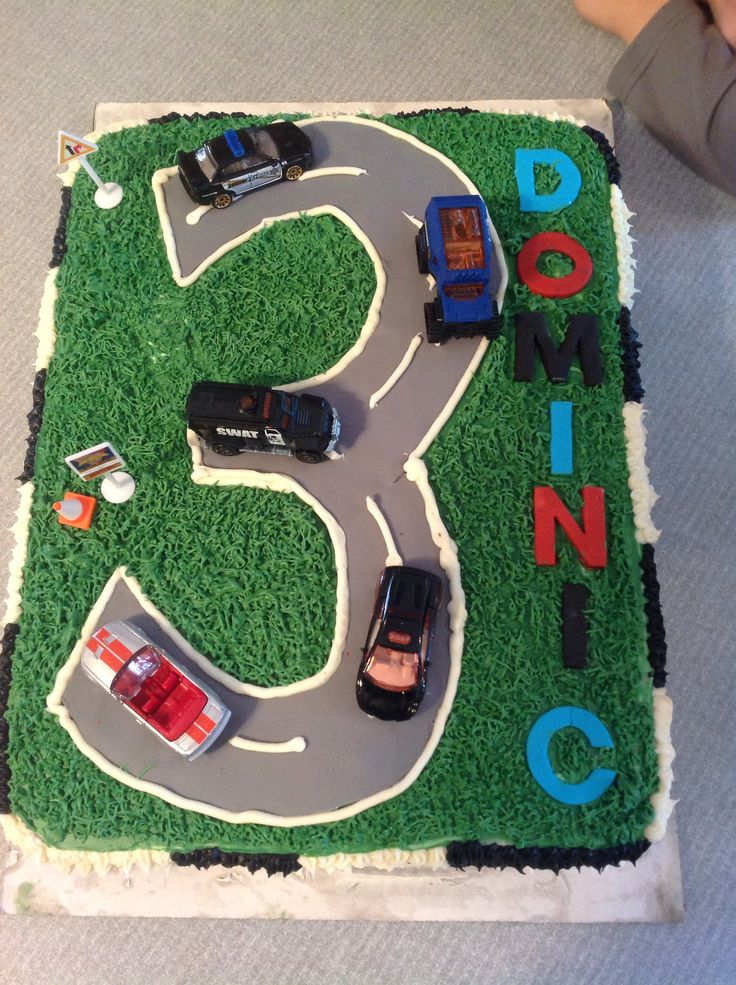 Street Cake With Police Cars The Badass Cakes I Ve Made