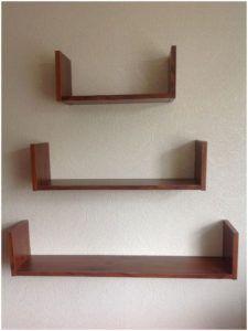 Wall Mounted Shelves Plans