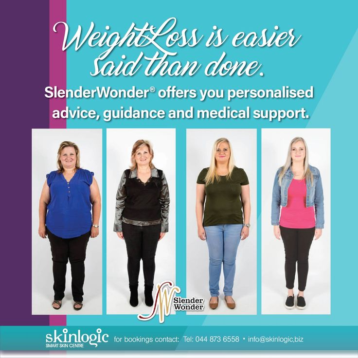 Weight Loss is easier said than done. SlenderWonder® offers you personalised advice, guidance and medical support. By qualified doctors and registered nurse Jean Bosch. We know how challenging weight loss might seem. We will guide you through every step of your journey. or more information or booking: Website: www.skinlogic.biz Call: +27 44 873 6558 Email: info@skinlogic.biz #skinlogic #SkinlogicGeorge #Aesthetics #SkinCare #Skintreatments @SlenderWonder