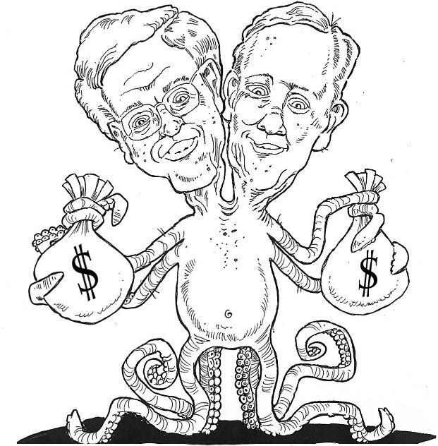 """Jane Mayer's """"Dark Money"""" Book Reveals Koch Brothers Paid Firm Run by Former NYPD Chief to Smear Her 