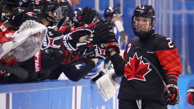 Canada's women's hockey team firing on all cylinders heading into semifinal
