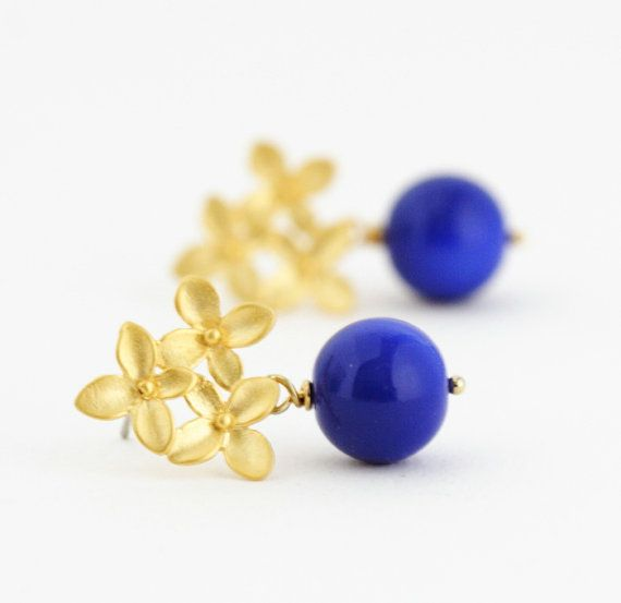 Monaco Blue Earrings