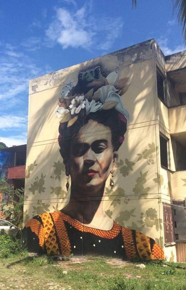 Frida Kahlo Hakkında Yapılmış 15+ Sokak Sanatı Eseri Sanatlı Bi Blog 4