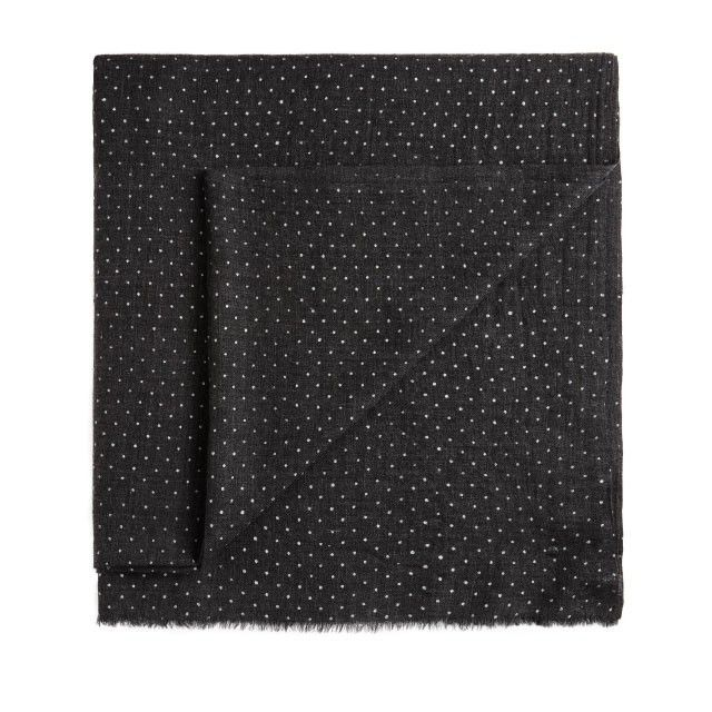 Sandwich Clothing Pure Wool Scarf Charcoal