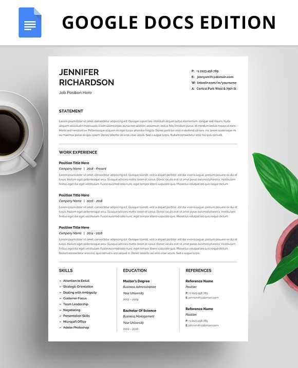 20 best Resume Templates images on Pinterest Resume templates