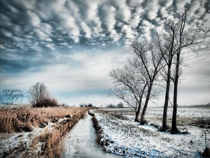 Winter in Hungary