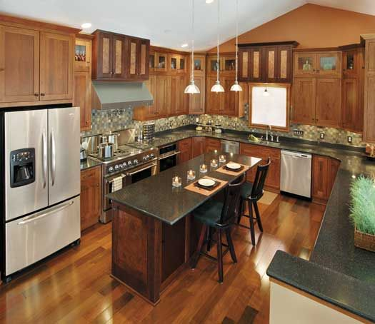 Kitchen Renovations Dark Cabinets: 1000+ Images About Kitchens - Dark Brown On Pinterest