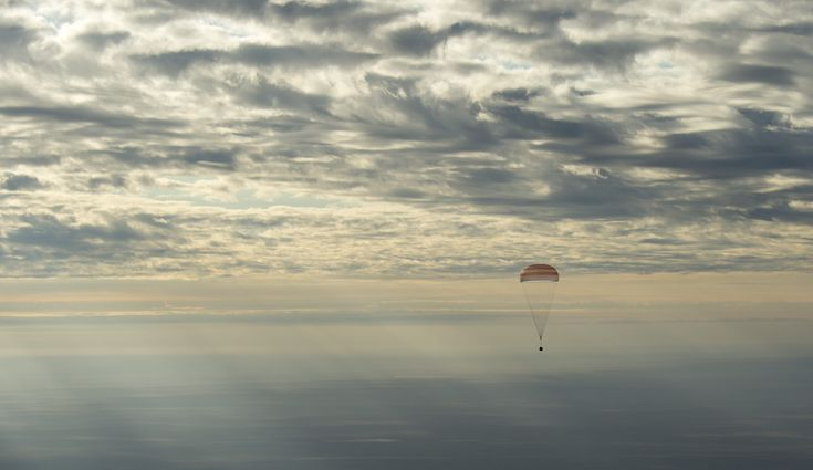 Expedition 49 Soyuz Spacecraft Landing Follow @GalaxyCase if you love Image of the day by NASA #imageoftheday