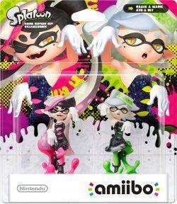 amiibo Splatoon Collection: Squid Sisters Set - Callie + Marie Dual Pack ‐hahmopakkaus – Nintendo amiibo – Pelifiguurit – Pelit ja viihde – Verkkokauppa.com