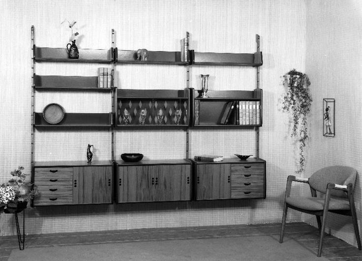 """Blindheim Møbelfabrikk """"ERGO"""", teak, Norway 1959 - contemporary ad"""