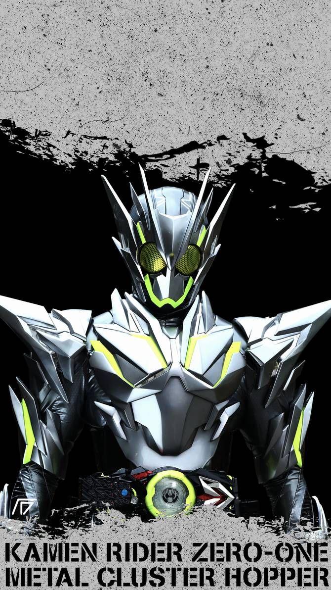 Kamen Rider Zero One Metal Cluster Hopper Kamenrider
