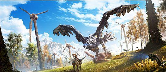 Horzion Zero Dawn PS4 Game Review
