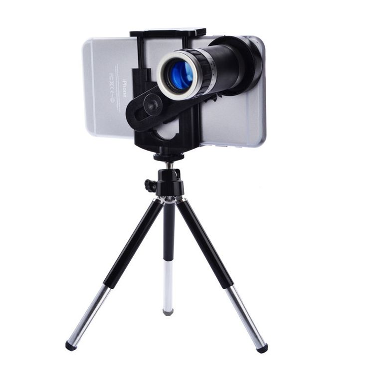 Mobile Phone Lens Universal 8X Zoom Telescope Camera Telephoto Lenses for iPhone 4 4S 5 5C 5S 6 Plus Samsung Galaxy S3 S5 Note 4