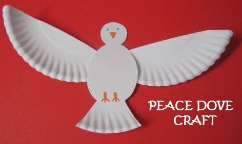 Peace dove craft/equality of men and women craft. Men and women are like the two…