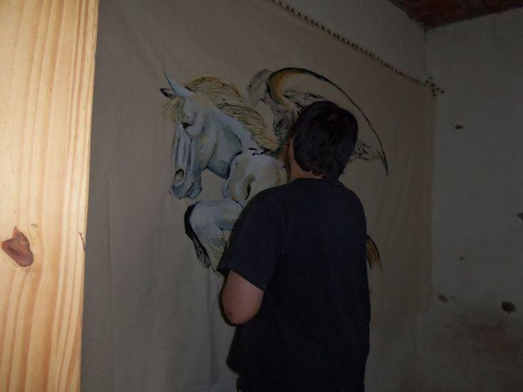 #Fotografía #Pintura #CarlosBenitez #Bandera #Evento