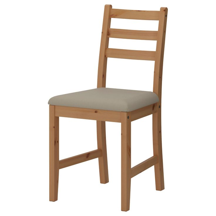 LERHAMN sandalye açık antika vernik-vittaryd bej  | IKEA Yemek Odaları