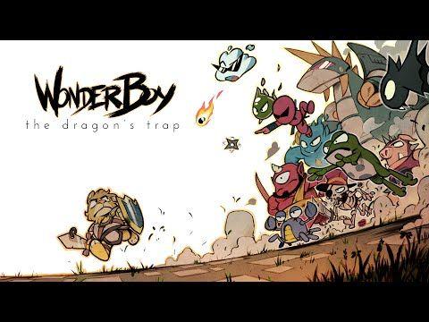 Wonder Boy: The Dragon's Trap - Reveal Trailer - YouTube
