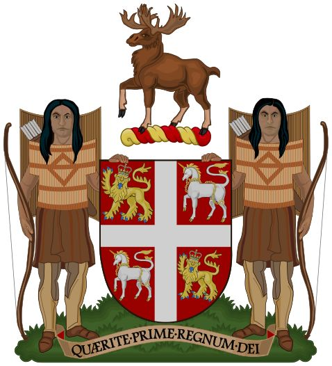 Coat of Arms of Newfoundland and Labrador - Dominion of Newfoundland - Wikipedia, the free encyclopedia